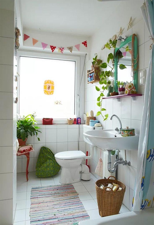 Musas: 10 Baños coloridos y alegres que te pondrán de buen ...