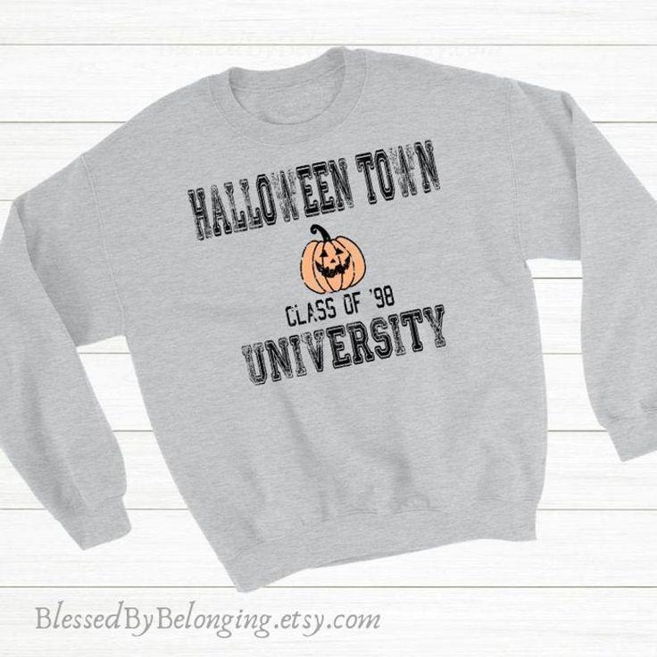Halloween Shirt-Halloween Town University-Halloween Tshirt-Halloween Sweatshirt for Women-Longsleeve Halloween Shirt-Halloween Graphic Tee 3
