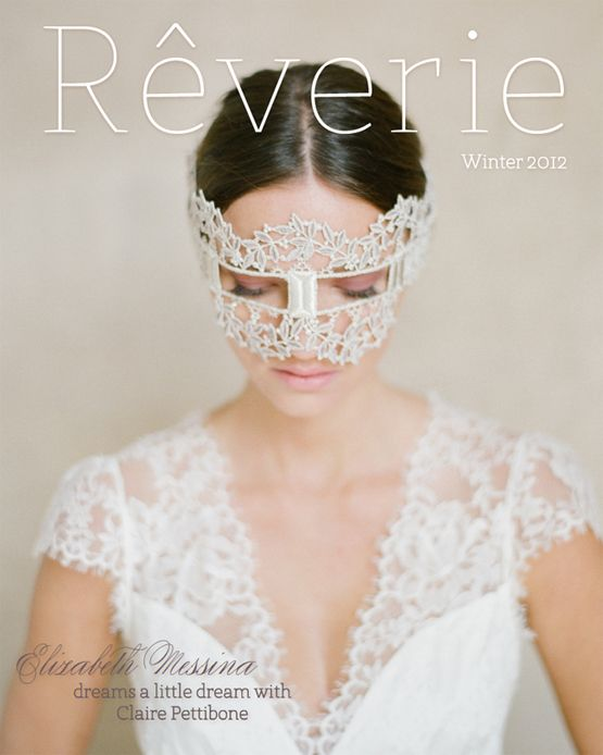 Because when I get married I'll wear a mask too. What?!