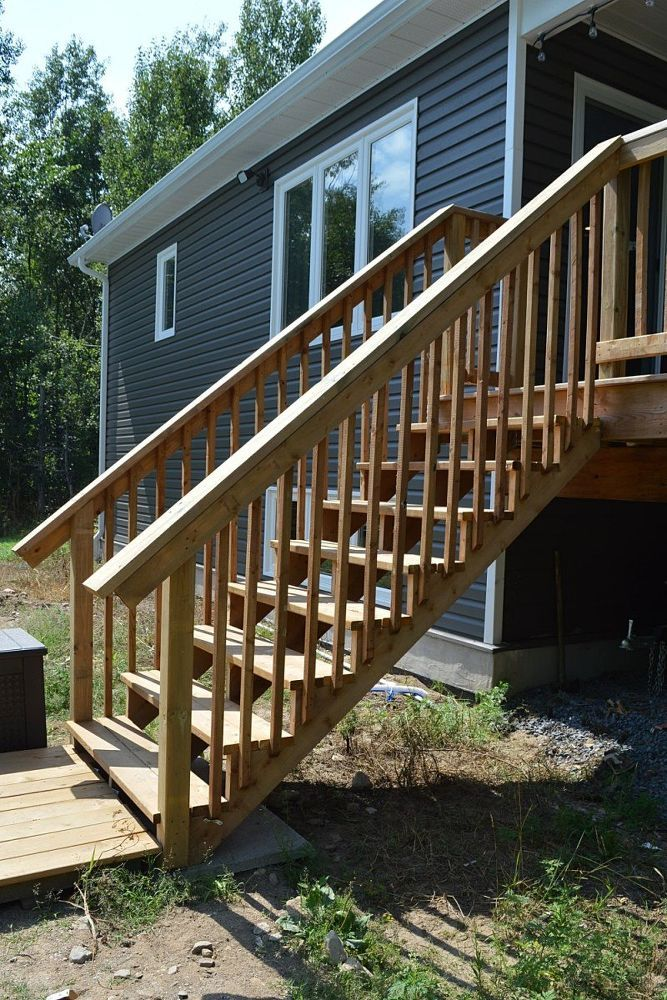 Best How To Build Deck Stairs From Pressure Treated Lumber 400 x 300