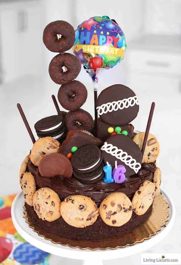 Enjoyable Ultimate Chocolate Birthday Cake Recipe With Images Easy No Funny Birthday Cards Online Alyptdamsfinfo