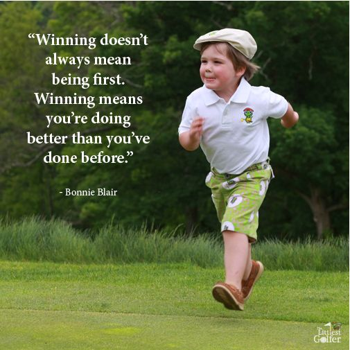 It's not about being first its about being better than the previous round. #Golf