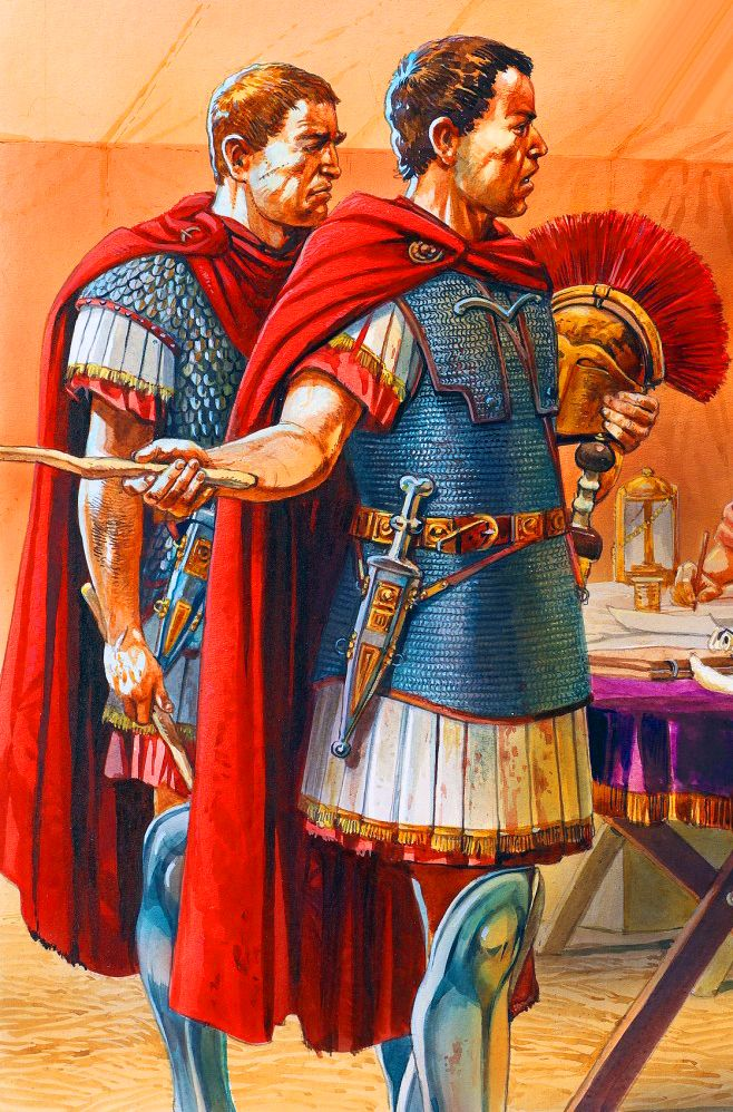 Caesar's Roman generals during the Gallic War