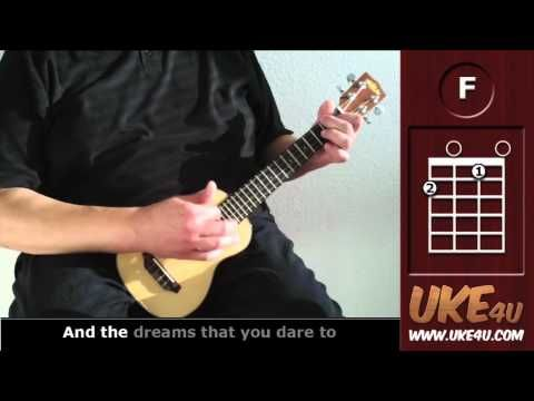 Check out my new Ukulele Learning App for iPhone and iPad:https://itunes.apple.com/us/app/learning-ukulele-in-7-days/id543738414?mt=8  Infos, chord sheet with lyrics:http://bit.ly/Q2gB29
