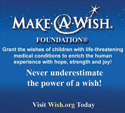 they grant the wishes of children with life-threatening medical conditions to enrich the human experience with hope, strength and joy.  the foundation's mission reflects the life-changing impact that a Make-A-Wish experience has on children, families, referral sources, donors, sponsors and entire communities.