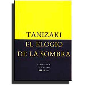 El Elogio De La Sombra Junichiro Tanizaki Ge 895 6 T164