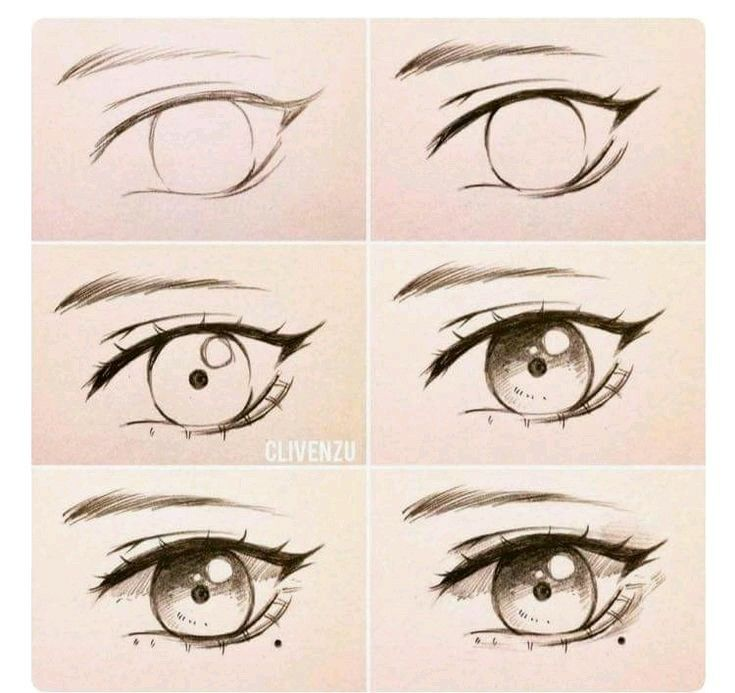 Pin By On Learning How To Draw Anime Eyes Eye Drawing Tutorials Drawings