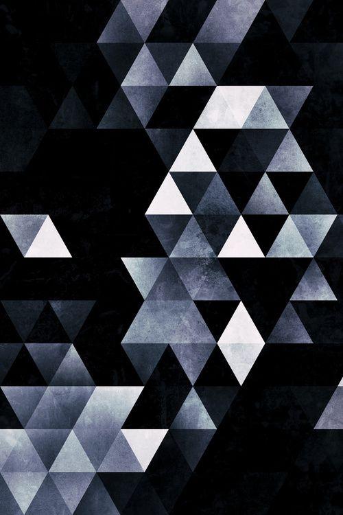 Ma forme géométrique préférée ? Le triangle, possibilité de construire et de créer un million de combinaisons !