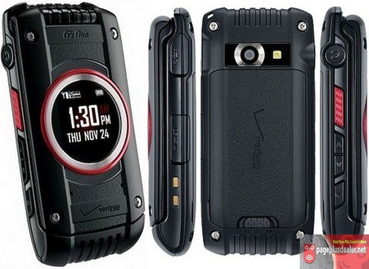 NEW Casio Gu0027zOne Ravine 2   C781 (Verizon)(Page Plus)Rugged Cellular Flip  Phone