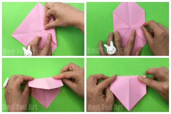 Easy Origami Pig Face Kinesisk Nytar