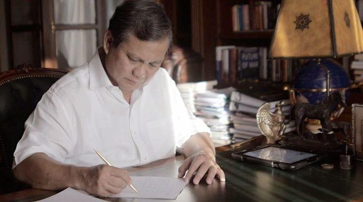 ABC: Coretan Prabowo Subianto