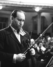 David Oistrakh (1908-1974) was a towering international figure in the middle decades of the 20th century. He had one of the most rich and noble tones ever created by a violinist and a technique to match his interpretive gifts.
