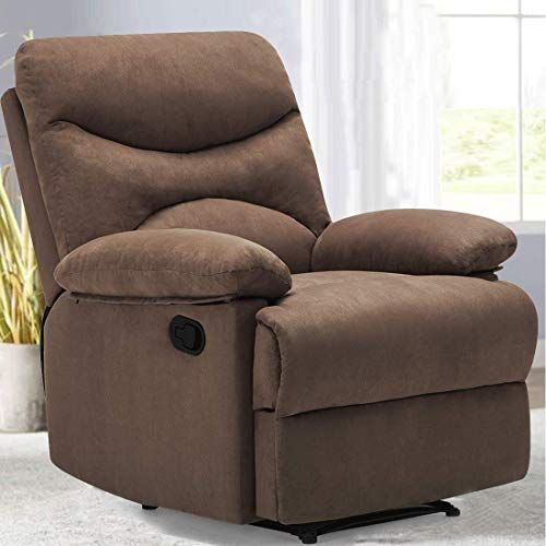 New Frivity Chair Recliner Microfiber Ergonomic Sofa Living Room Sofa Heated Control Home Theater Seating Fit Elder Age Brown Online Shopping Perfectfurni Recliner Chair Brown Furniture Living Room Living Room Sofa