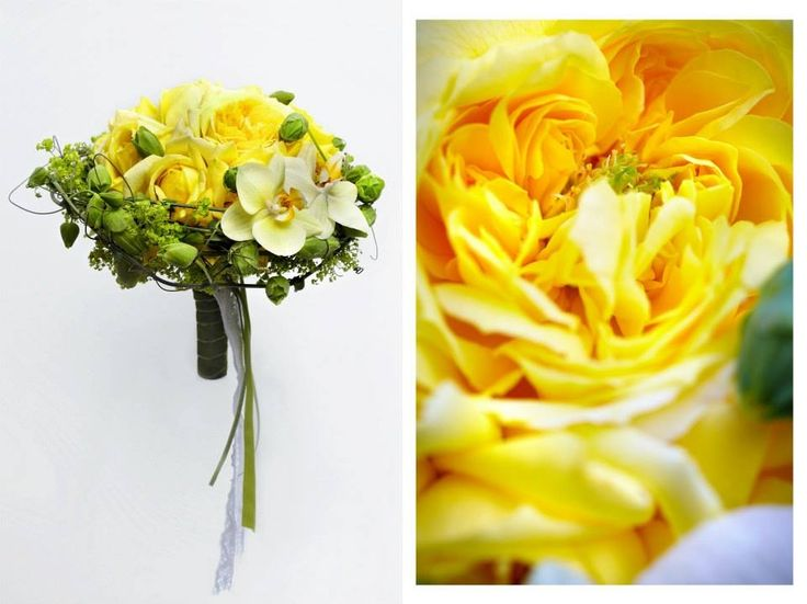 Yellow bouquet. Designed Samson Buket.