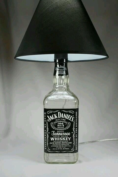 Jack Daniel's Man cave lamp Fuck the man cave, let's put that in the living room! I'm 21 I do what I want.