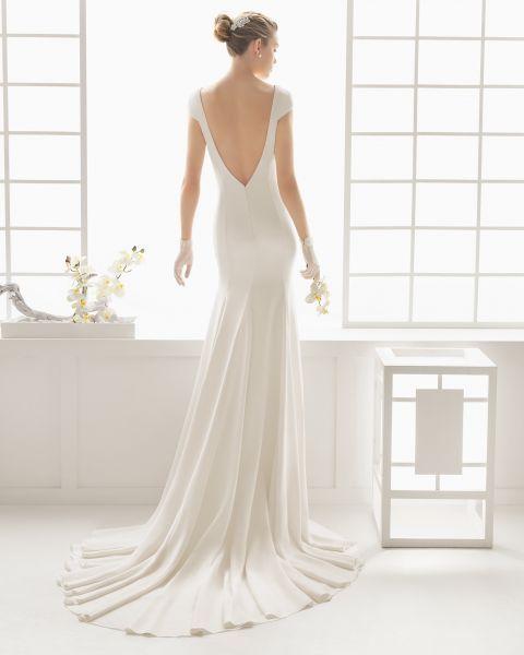 Vestidos de noiva minimalistas 2016: ultra-elegantes e chiques Image: 18