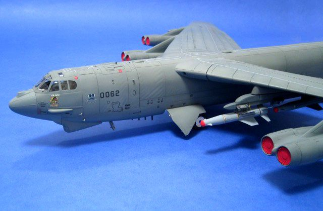 "B-52H ""Cajun Fear"" by Adrian Davies (AMT 1/72 Model)."