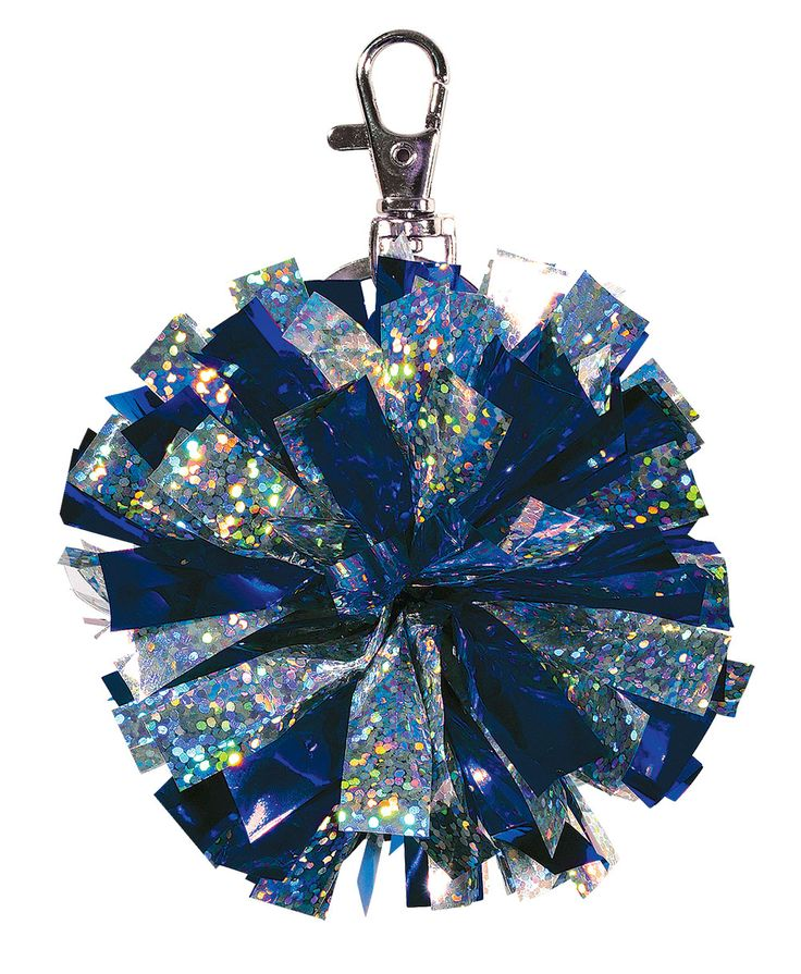chass girls mini cheerleading pom pom keychain pnksil