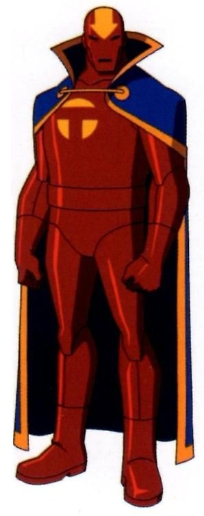 Young Justice Red Tornado | The Many Faces of Red Tornado ...