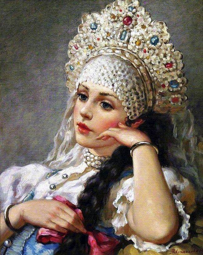 Русские красавицы XIX и начала XX века