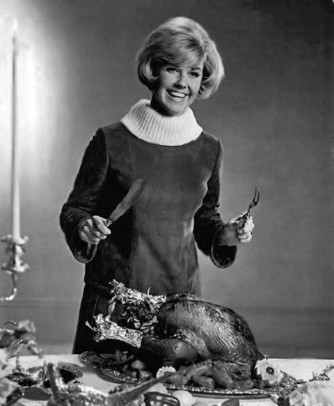 Happy Thanksgiving from Doris Day!