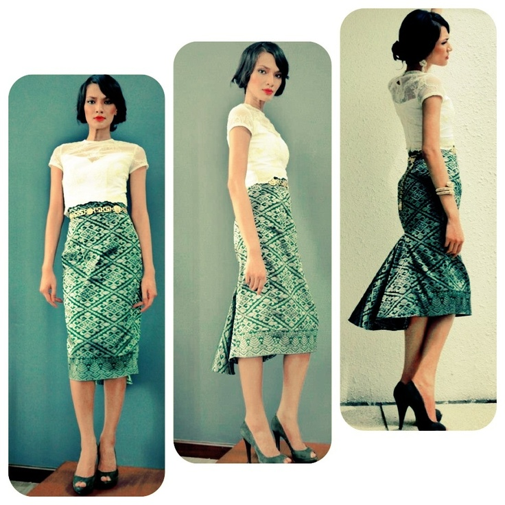 Chic Batik skirt idea