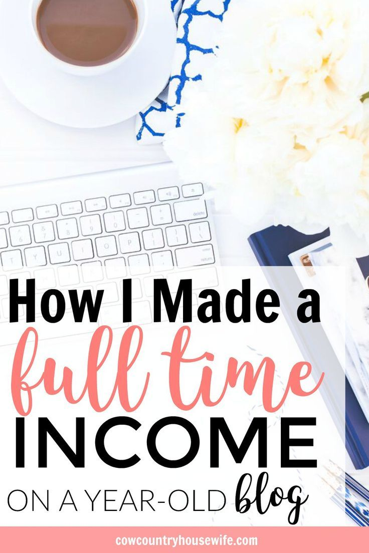 This is amazing! She made a full-time income blogging in her first full year blogging. This is so inspiring! I love her income reports and now she spells out the entire year, of what worked and what didn't. If you want to make a full time income from blog