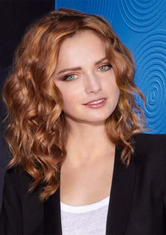 Trending Shoulder Length Hairstyles Trends In 2018 Curly Wavy