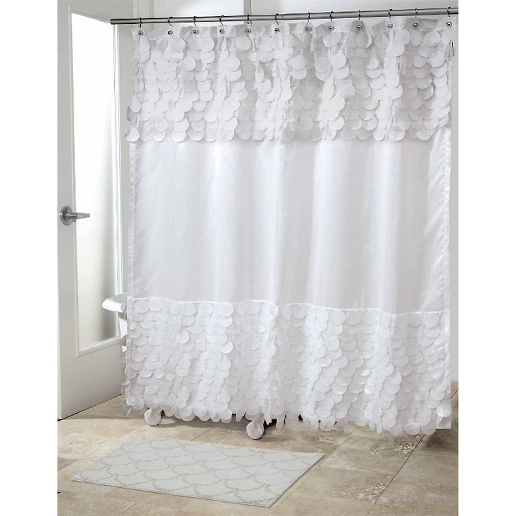 Simple Elegant Shower Curtains