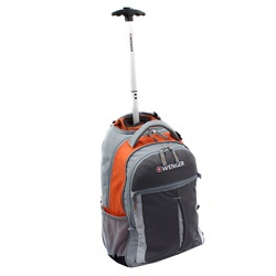 @Overstock - Materials: Ripstop Polyester   Dimensions: 18 inches high x 7.5 inches wide x 12.75 inches long   Weight: 4.2 lbs.http://www.overstock.com/Luggage-Bags/Wenger-Swiss-Gear-Orange-18-inch-Rolling-Carry-On-Backpack/6644147/product.html?CID=214117 CAD              92.03: 12 75 Inches, Cad 92 03, Long Weight