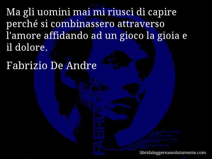Cartolina con aforisma di Fabrizio De Andre (33)