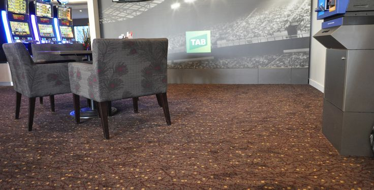 St George Leagues Club, NSW - Above Left - Modular Ax installation #carpet