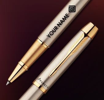 A Personalized Parker to make a great impression !  Explore here ->  http://www.printvenue.com/c/pens?utm_source=Pinterest&utm_medium=Post&utm_campaign=Pens_15April14 #Printvenue #Parker #pens #engraved