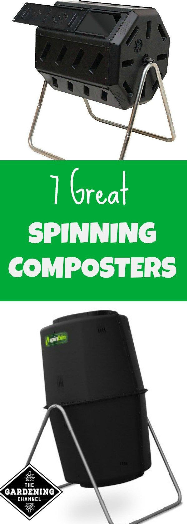 compost tumblers 7 great spinning composters including two you can build yourself