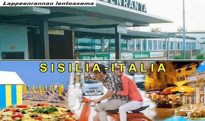 Lappeenrannasta Sisiliaan