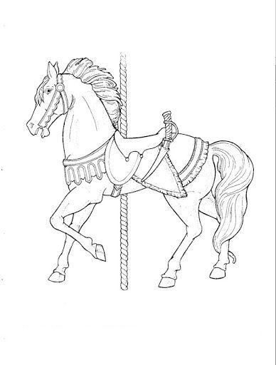 98 Best Carousel Horse Images On Pinterest
