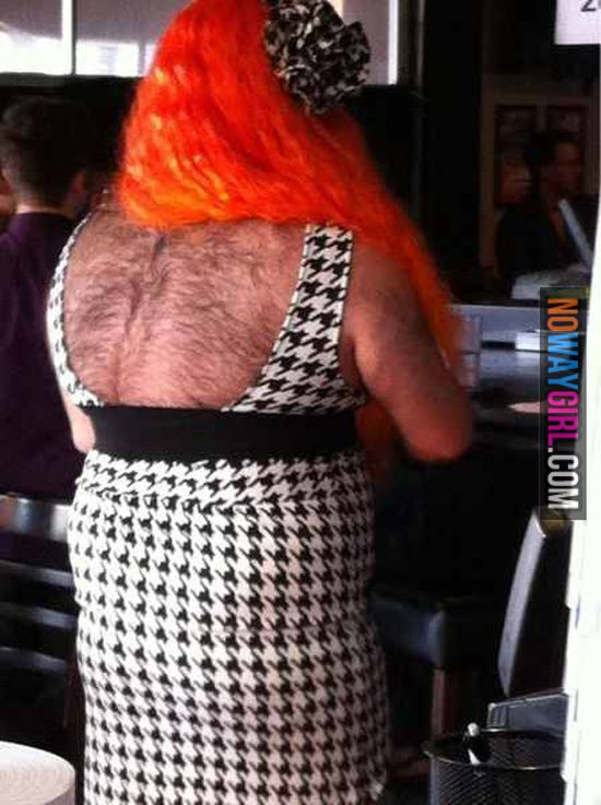 Red Weave and Back Hair Fashion Fail