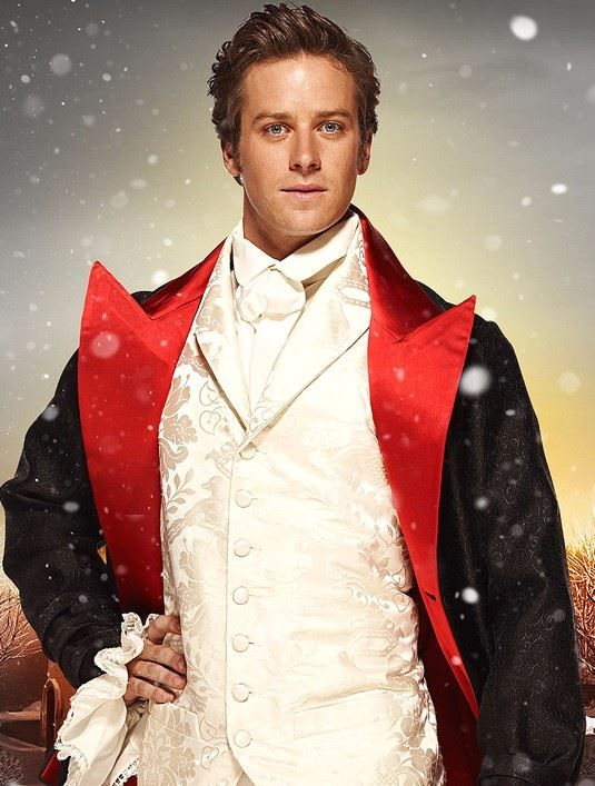 Armie Hammer - the perfect Arlan Guthry from The Christmas Calamity!