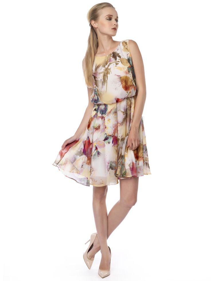 #floral#pastel#dress