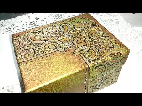 CAJA COFRE DE BANDEJA DE UNICEL RECICLADO, - COFFER MAGICAL - YouTube