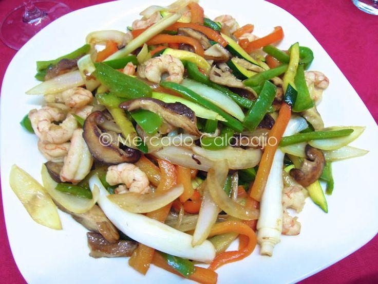 Comida china casera. Mejoras en nuestros platos preferidos - Mercado Calabajío