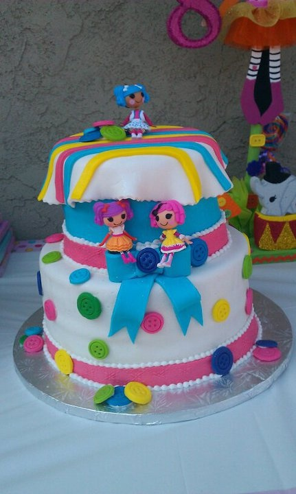 289 mejores im genes sobre cakes lalaloopsy en pinterest - Bizcochos cumpleanos infantiles ...