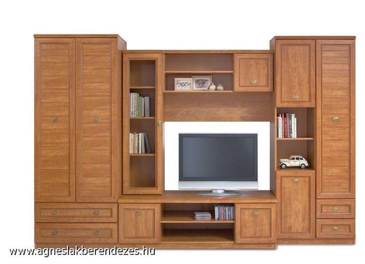 Sevilla II szekrénysor, nappali bútor, Ágnes Lakberendezés