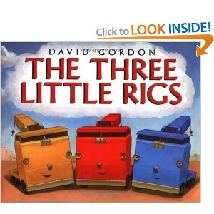 The Three Little Rigs (alternate story of The Three Little Pigs...there's a big bad wrecking ball...love it!)