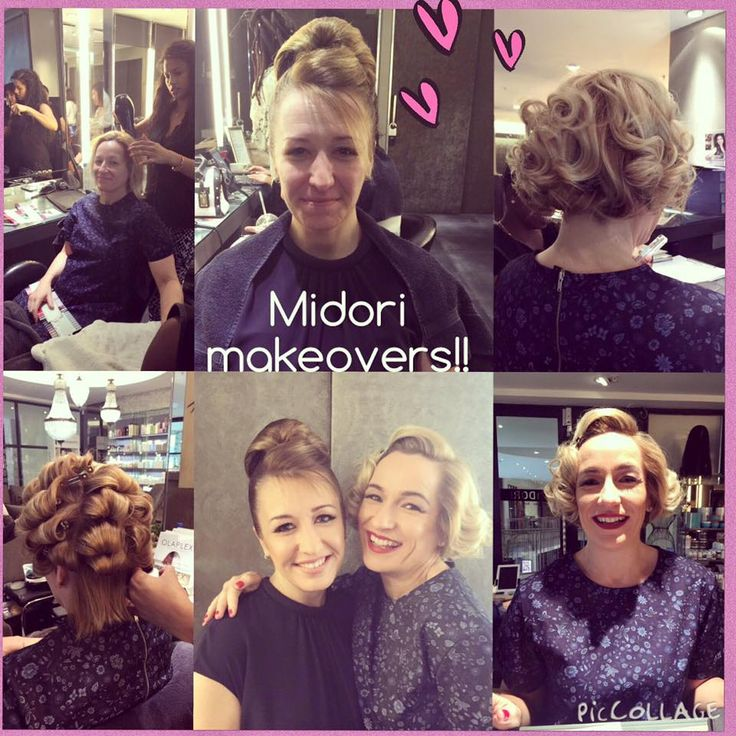 Incredible Midori Makeovers for these sisters by Hairstylists: Chantal & Carmel!! Wow!!