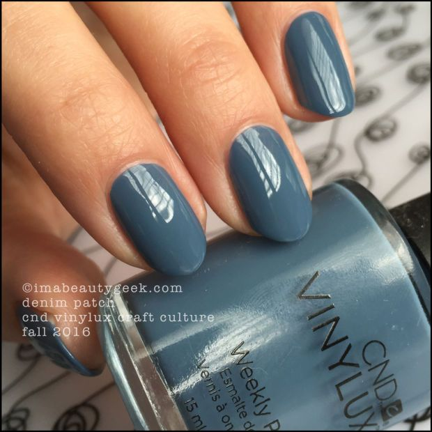 CND Vinylux Denim Patch – Craft Culture 2016