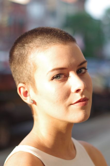 Why You Should Get A Buzz Cut This Summer  #refinery29  http://www.refinery29.com/getting-a-buzzcut