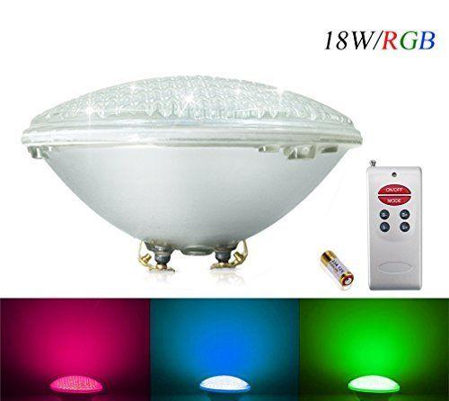 Best COOLWEST RGB W Lampe de Piscine Lumi re LED PAR V DC AC contr le par