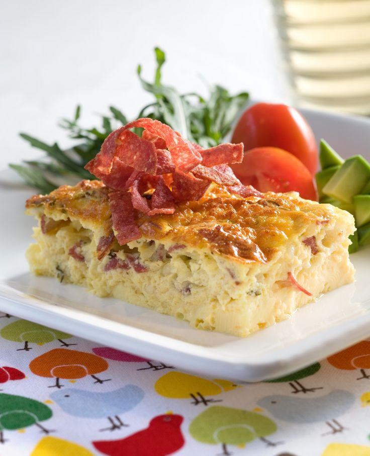 Omelett på påsketur: Om denne omeletten går mange mil på ski, er uvisst. Men det er super mat for de som har tatt en liten rusletur på ski eller til fots.