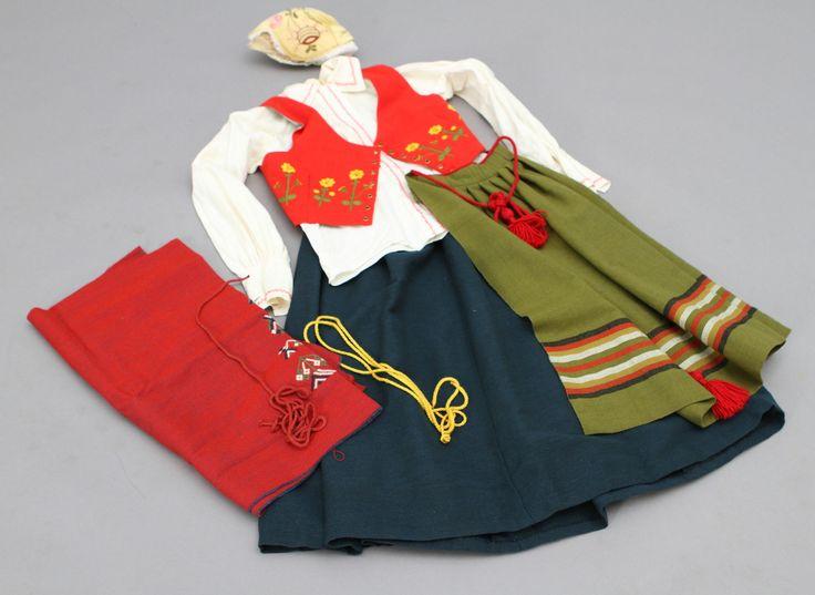 Traditional costume from Bohuslän